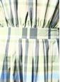 Beymen Collection Kayık Yaka Ekoseli Midi Elbise Yeşil